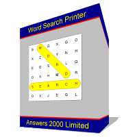 Word Search Printer